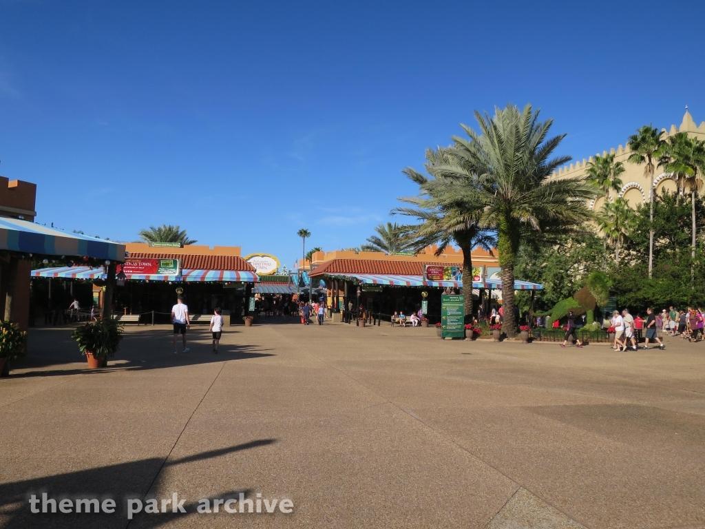 Entrance   Exit at Busch Gardens Tampa