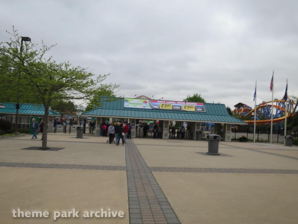 Entrance at Dorney Park
