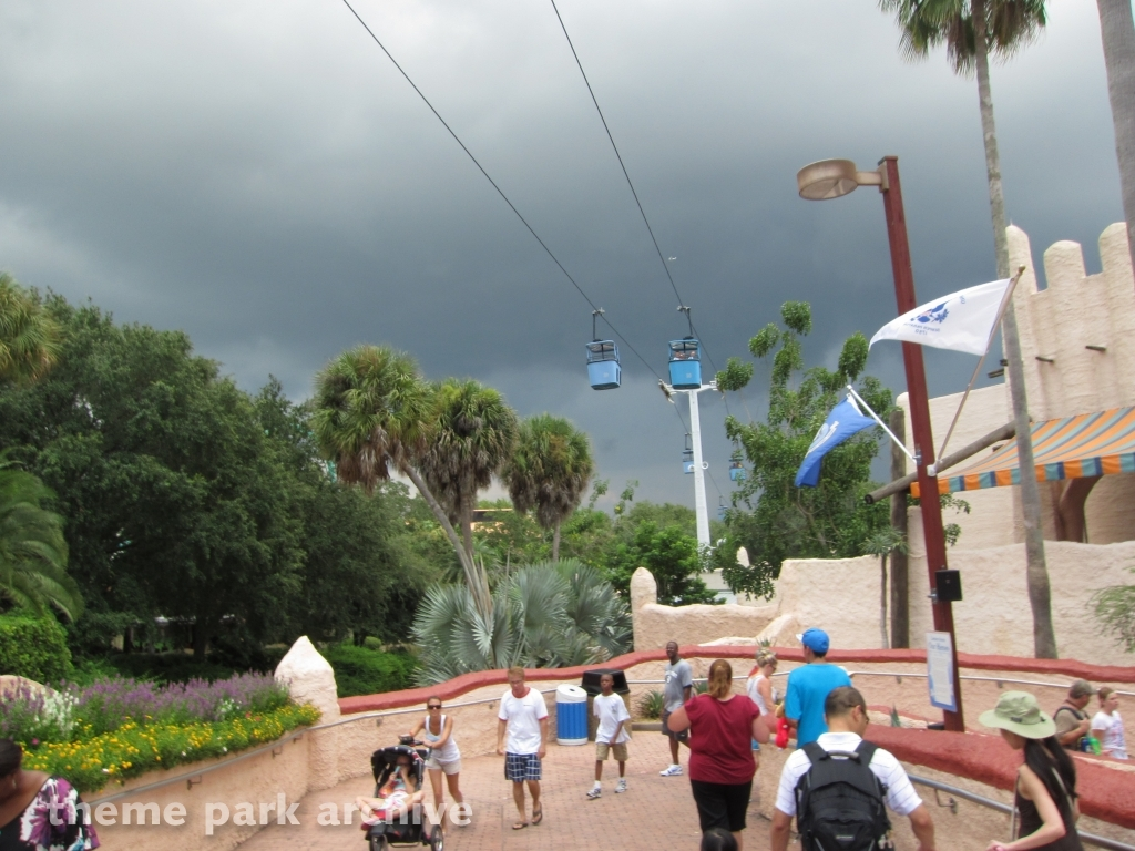 Theme Park Archive Skyride At Busch Gardens Tampa