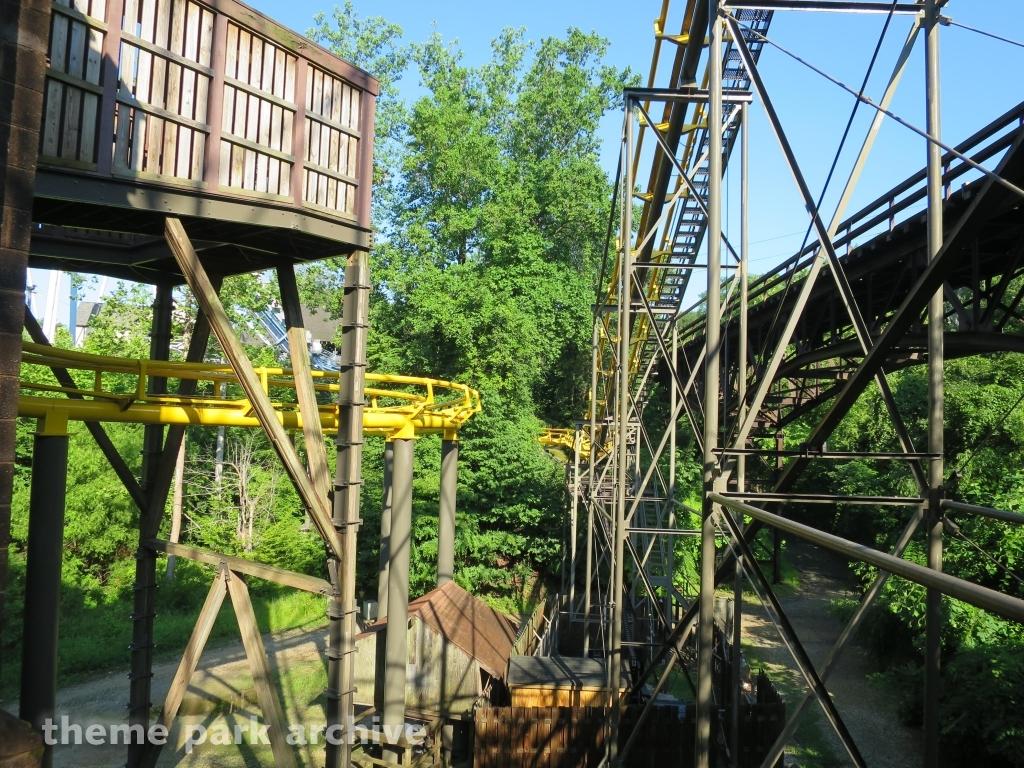 Theme Park Archive Loch Ness Monster At Busch Gardens Williamsburg