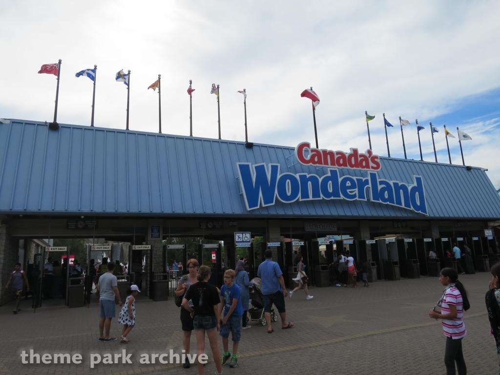 Entrance at Canada's Wonderland