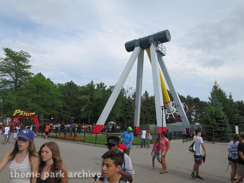 Psyclone at Canada's Wonderland