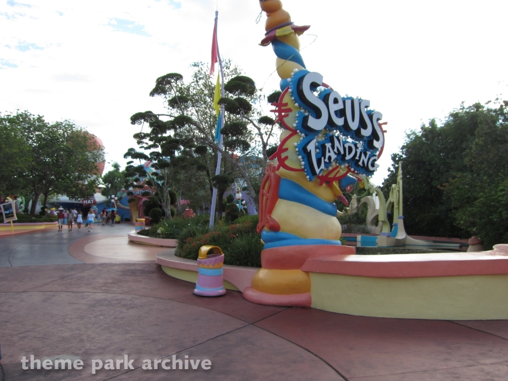 Seuss Landing at Universal Islands of Adventure