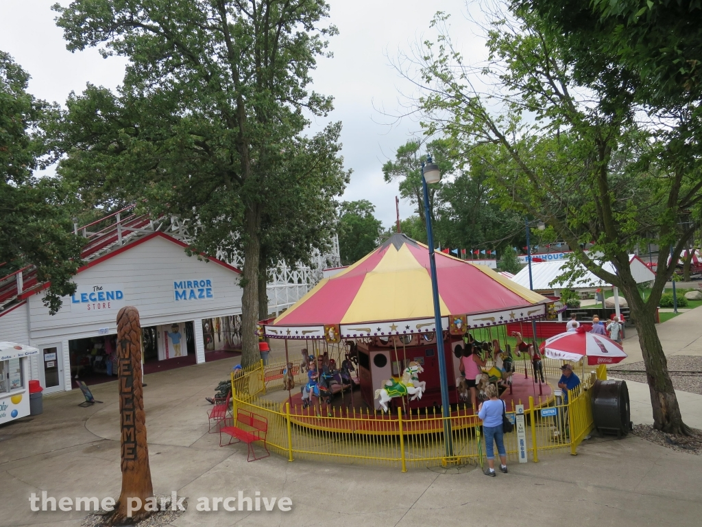 Merry Go Round at Arnolds Park