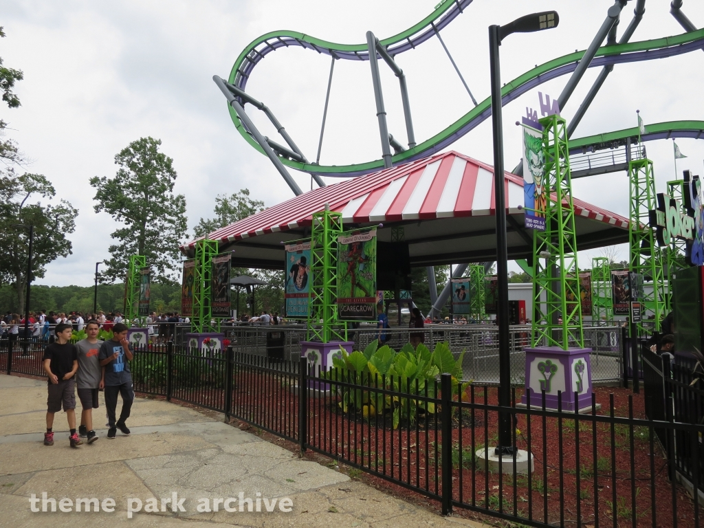 The Joker at Six Flags Great Adventure