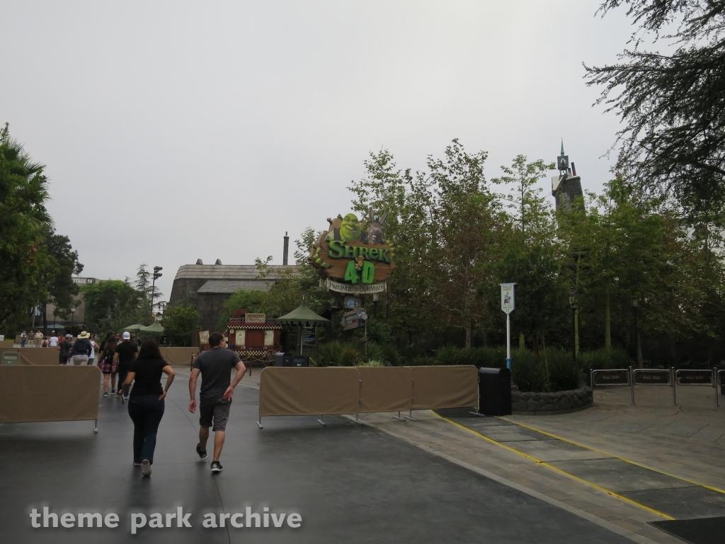 Shrek 4D at Universal Studios Hollywood