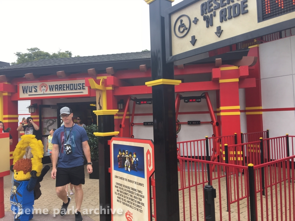 LEGO Ninjago The Ride at LEGOLAND California