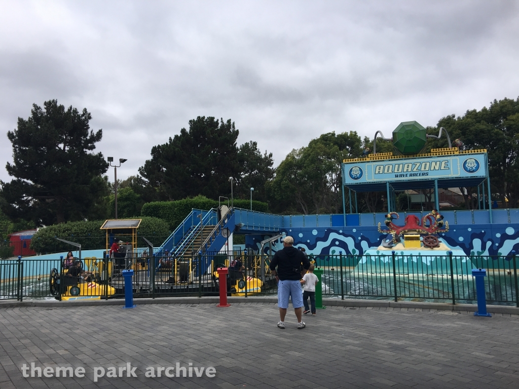 AQUAZONE Wave Racers at LEGOLAND California