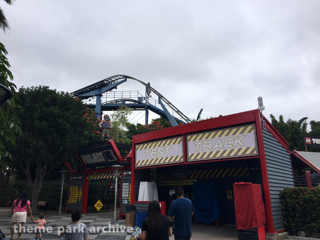 LEGO TECHNIC Coaster at LEGOLAND California