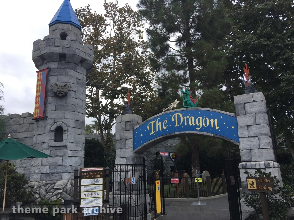 The Dragon at LEGOLAND California