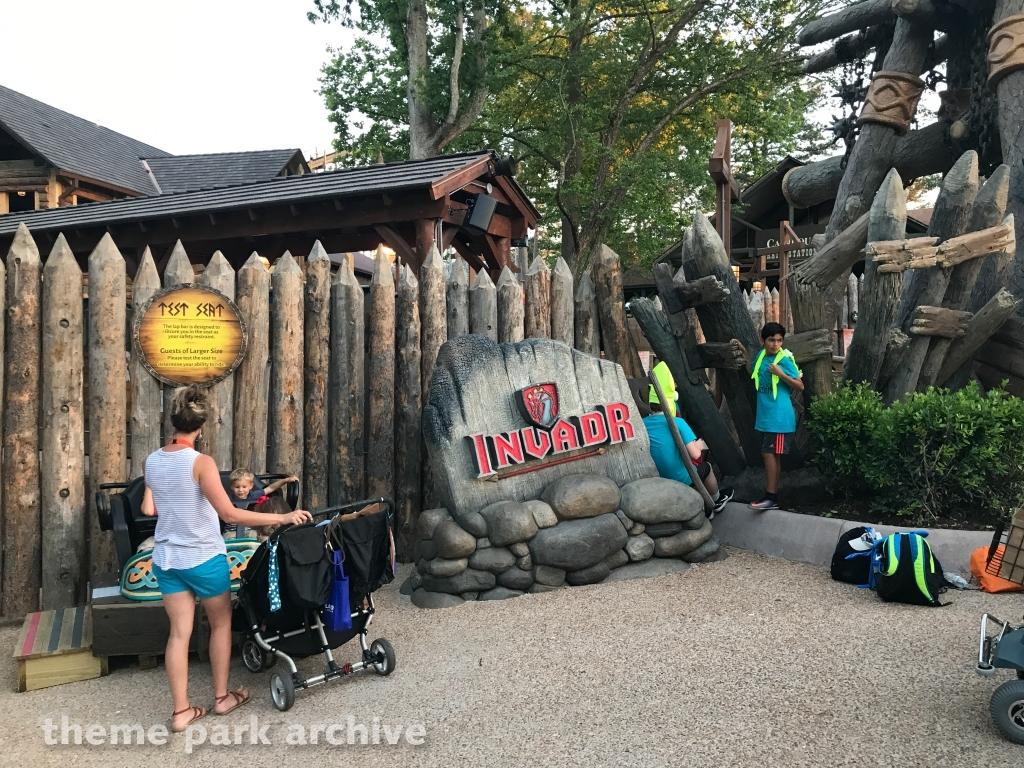 InvadR at Busch Gardens Williamsburg