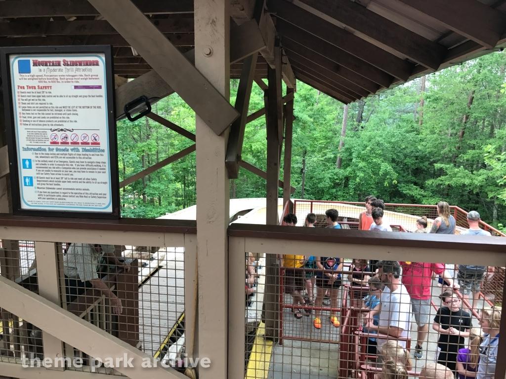 Mountain Slidewinder at Dollywood