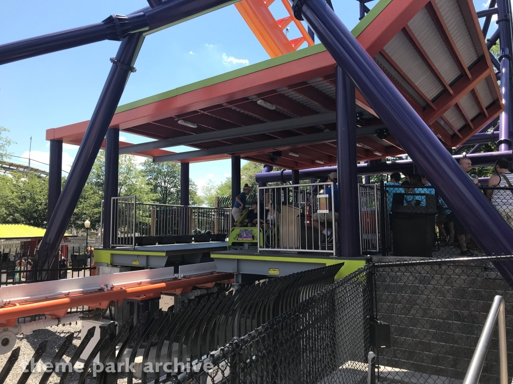 Phobia Phear Coaster at Lake Compounce