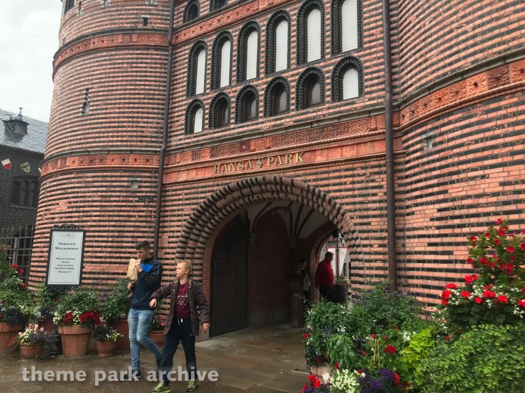 Entrance at Hansa Park