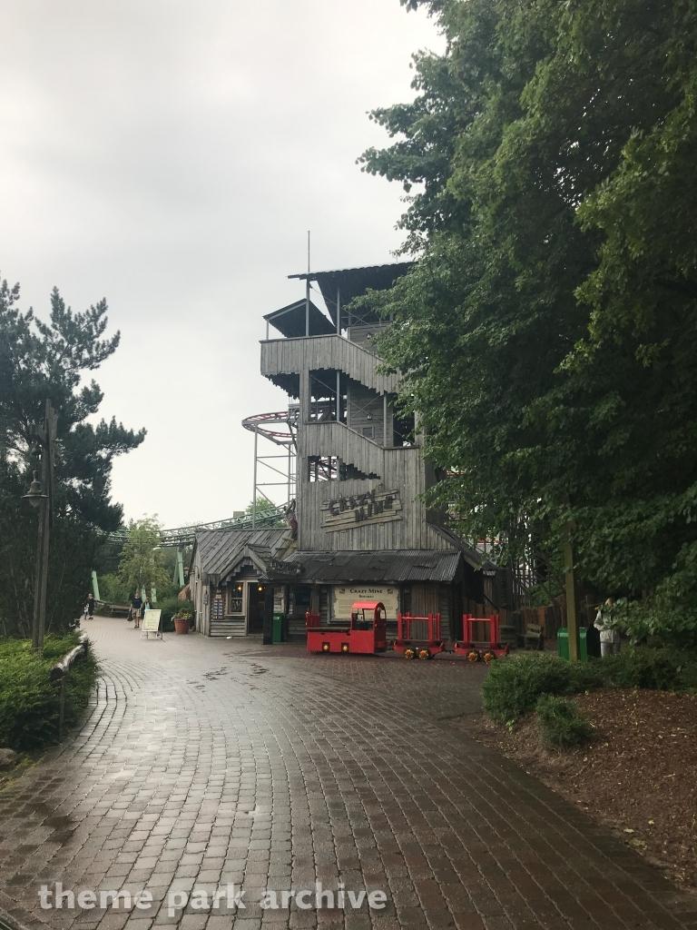 Crazy Mine at Hansa Park