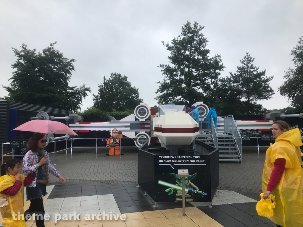LEGO Star Wars X Wing Starfighter at LEGOLAND Billund