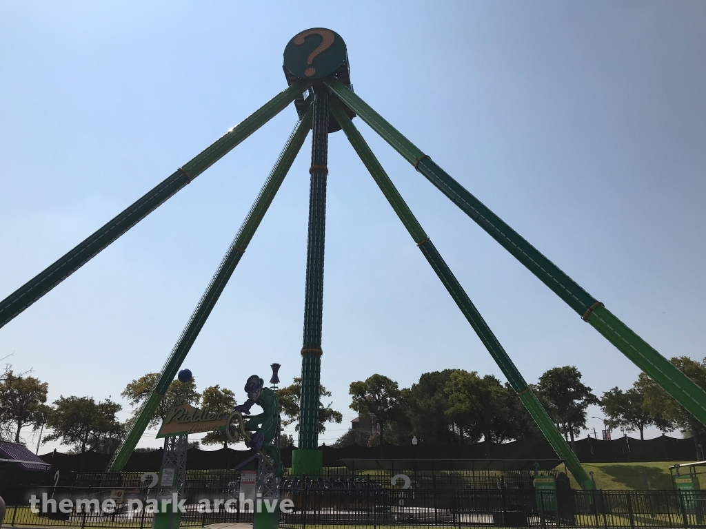 The Riddler Revenge at Six Flags Over Texas