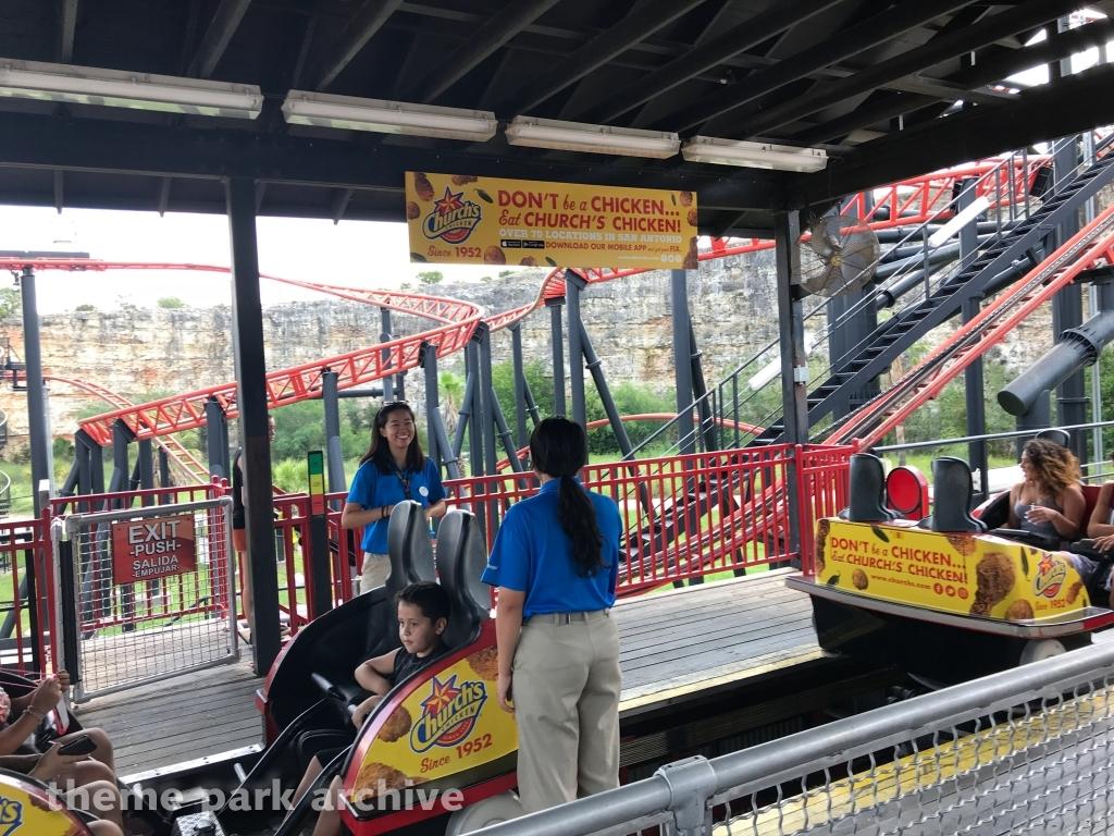 Pandemonium at Six Flags Fiesta Texas