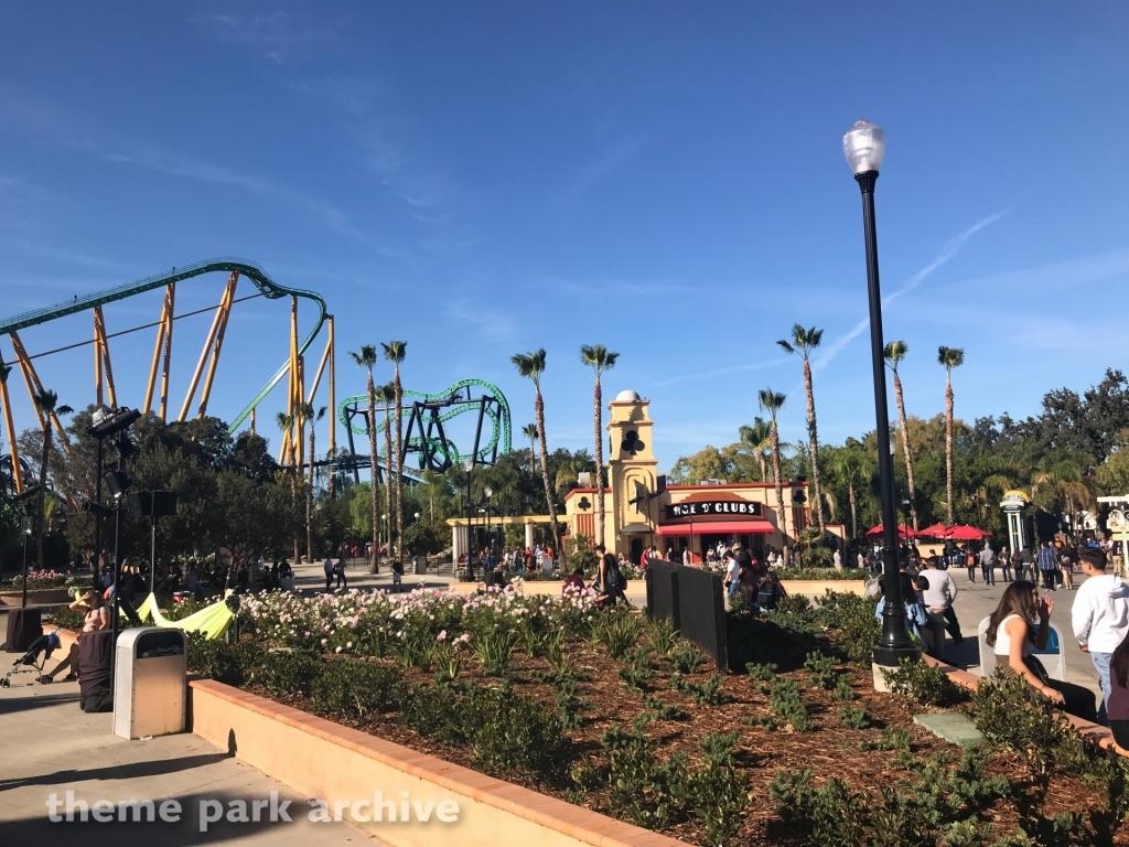 Riddler's Revenge at Six Flags Magic Mountain
