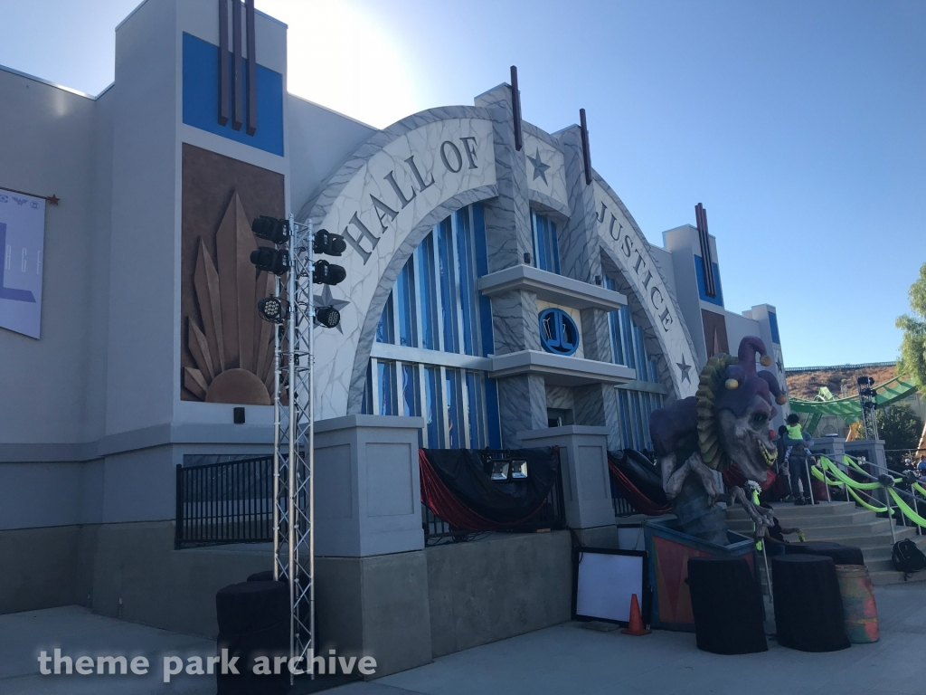 Justice League: Battle For Metropolis at Six Flags Magic Mountain