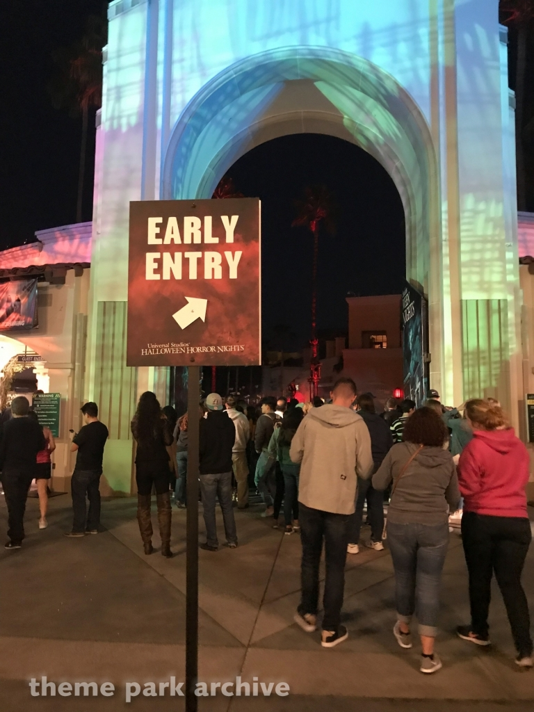 Park Entrance at Universal Studios Hollywood