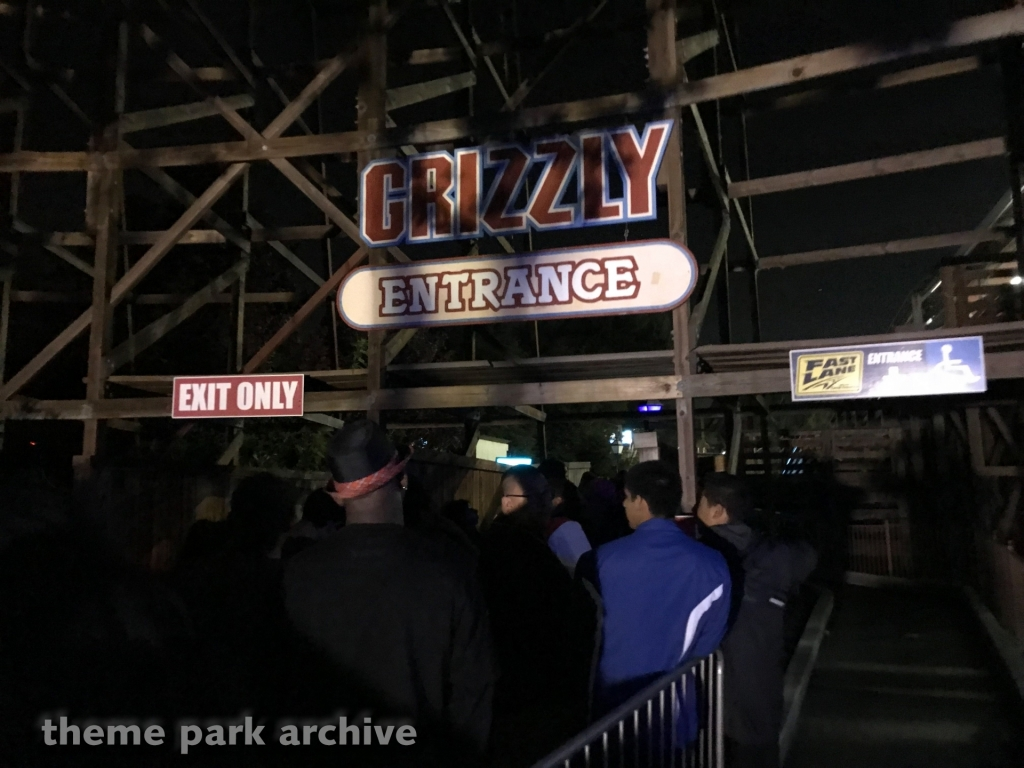 Grizzly at California's Great America