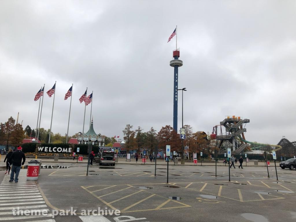 Sky Trek Tower at Six Flags Great America