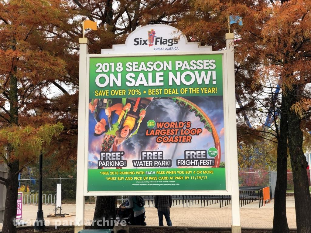 Mardi Gras Hangover at Six Flags Great America