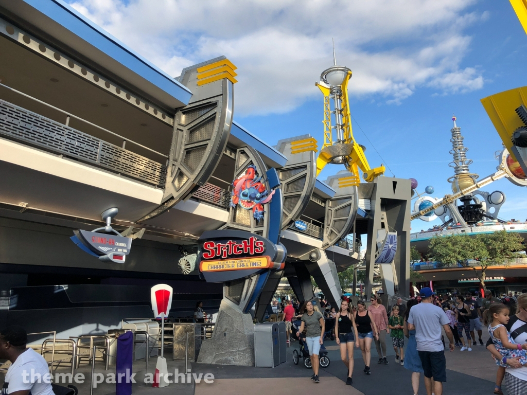 Stitch's Great Escape at Magic Kingdom