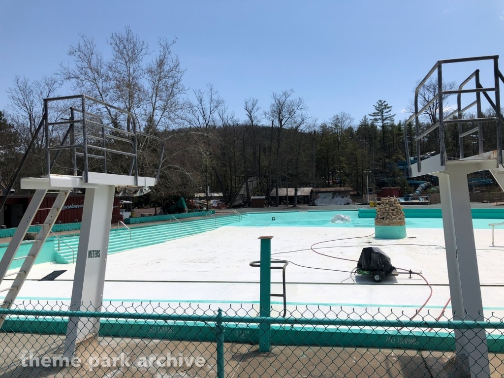 Crystal Pool at Knoebels Amusement Resort