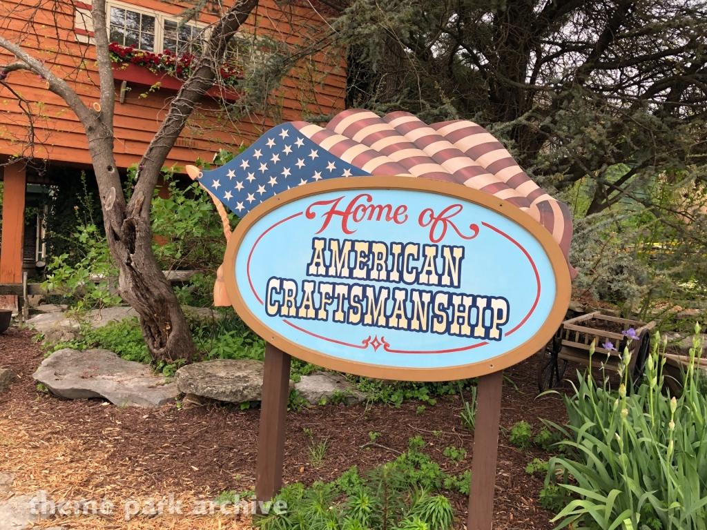 Entrance at Silver Dollar City