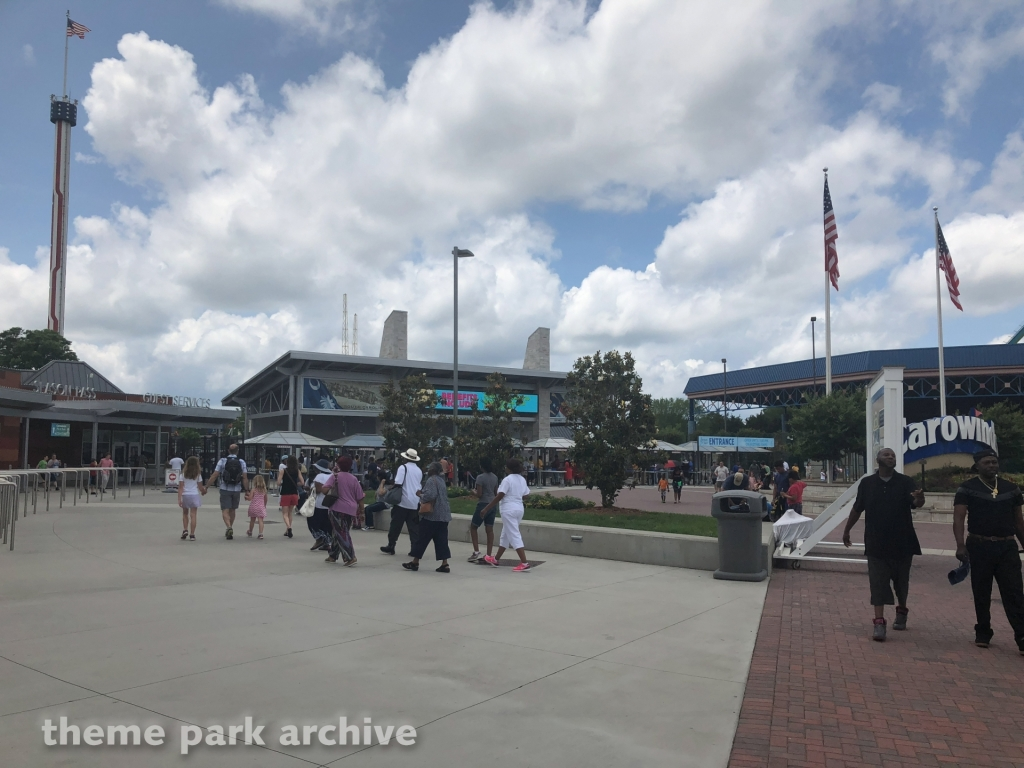 Entrance at Carowinds