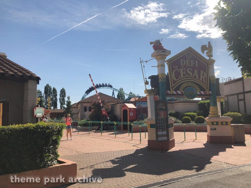 Le Defi De Cesar at Parc Asterix