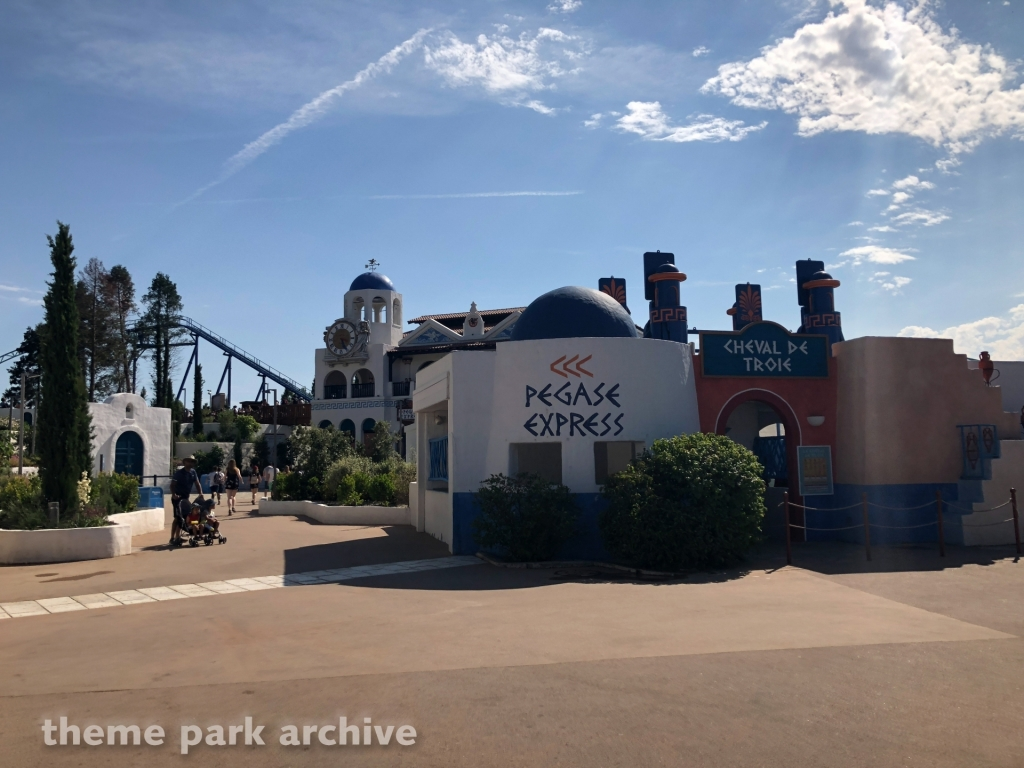 Pegase Express at Parc Asterix