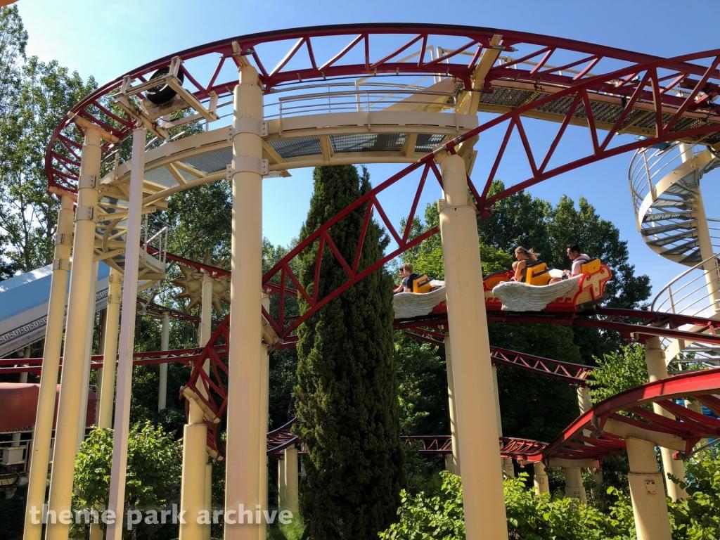 Le Vol Dicare at Parc Asterix