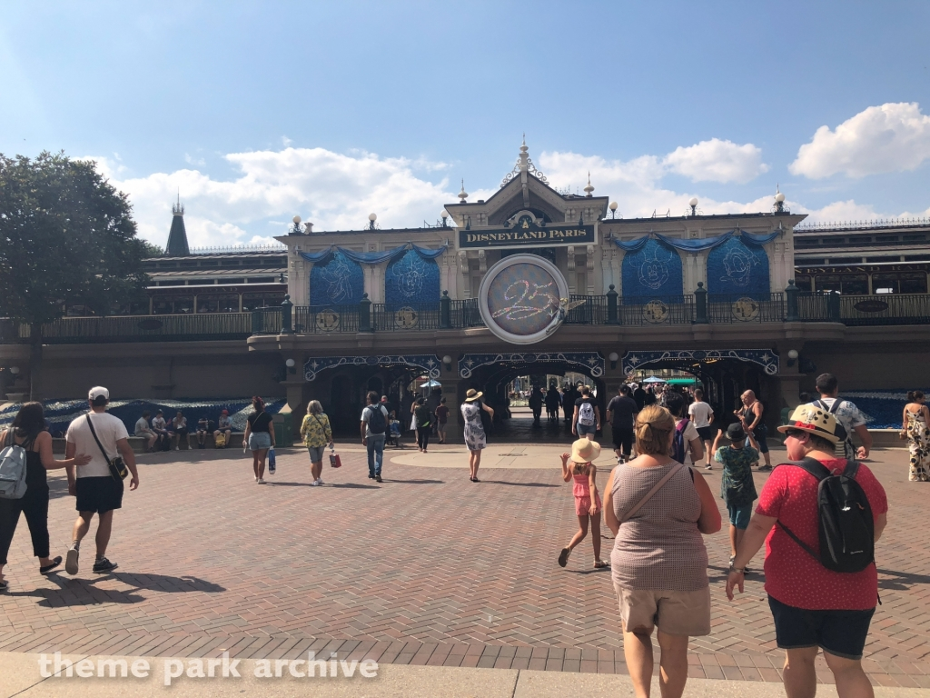 Entrance at Disneyland Paris