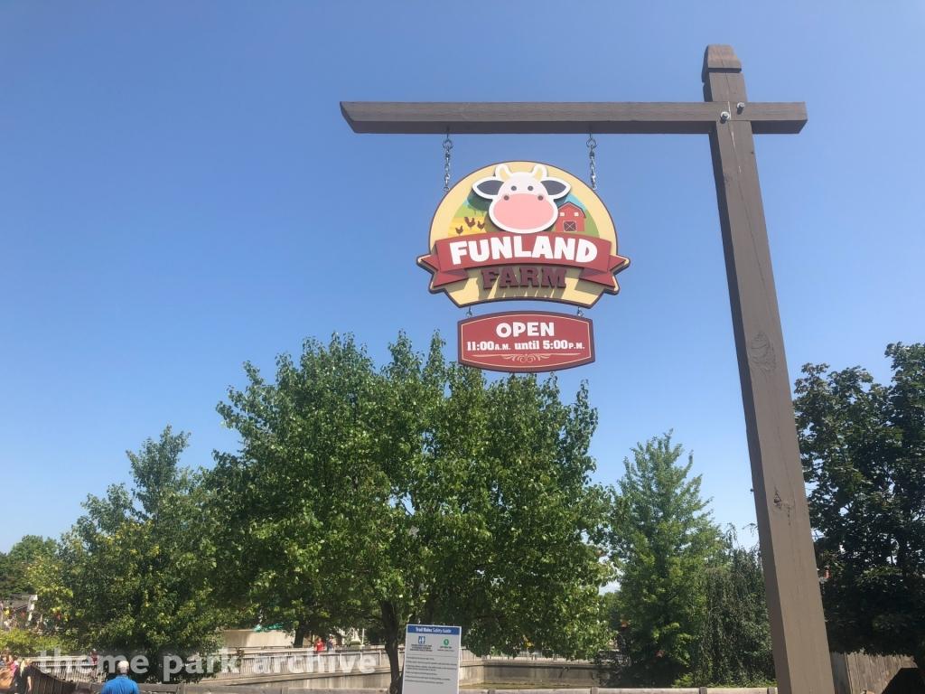 Funland Farm at Michigan's Adventure