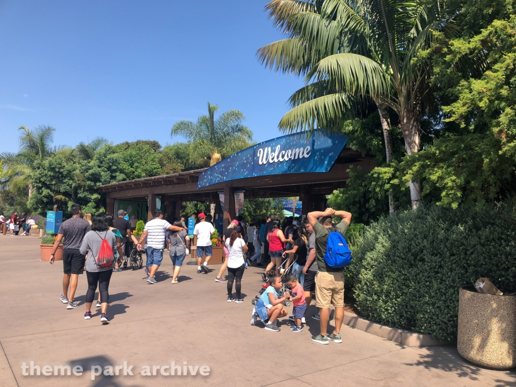 Main Entrance at Sea World San Diego