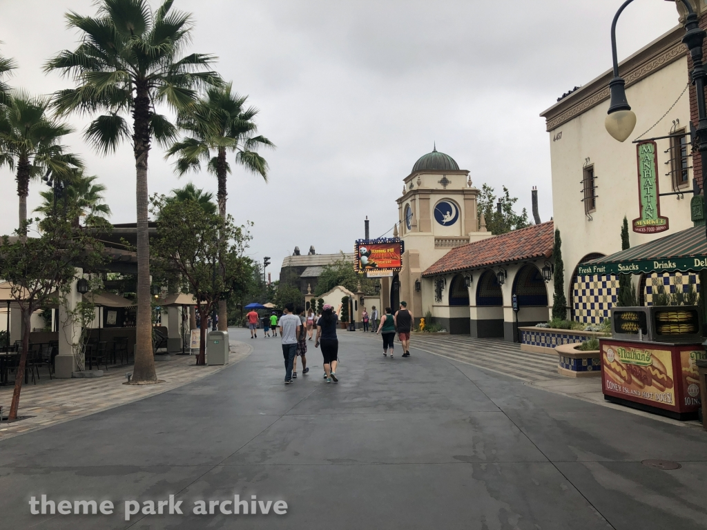 Upper Lot at Universal Studios Hollywood
