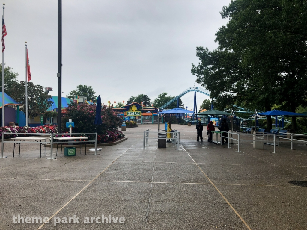 Entrance at Sesame Place