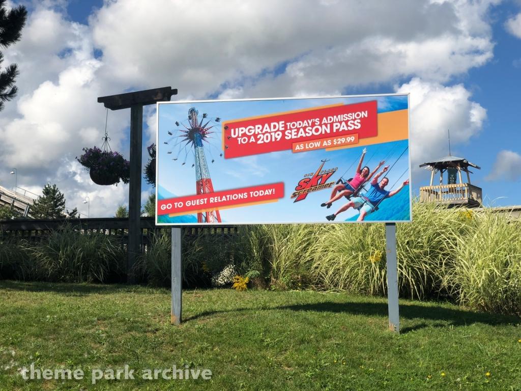 Six Flags Sky Screamer at Six Flags Darien Lake