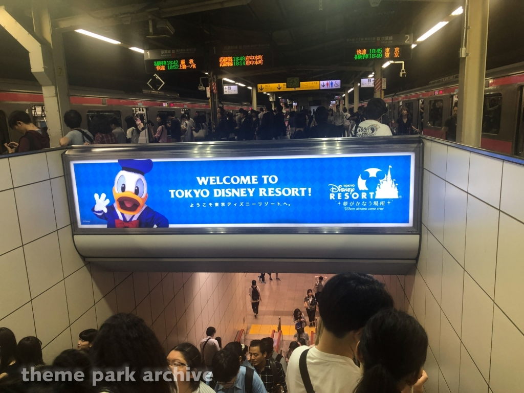 Maihama Station at Tokyo Disney Resort