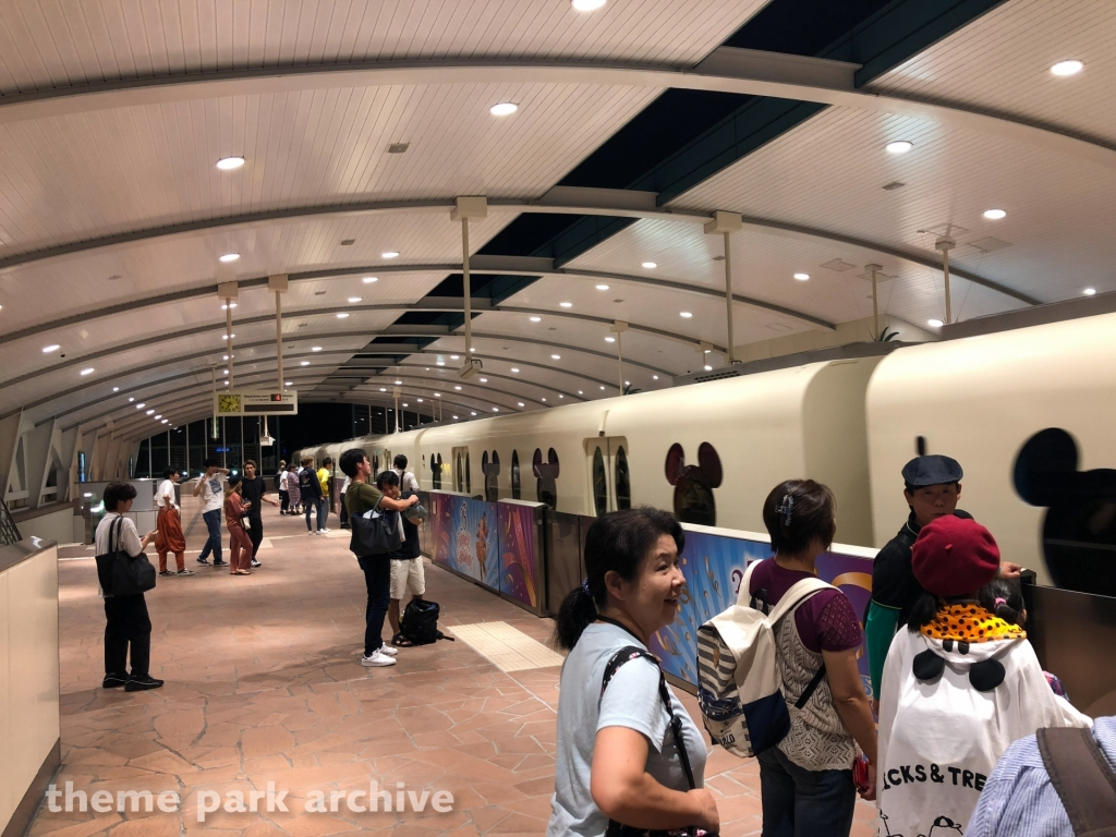 Disney Resort Line at Tokyo Disney Resort