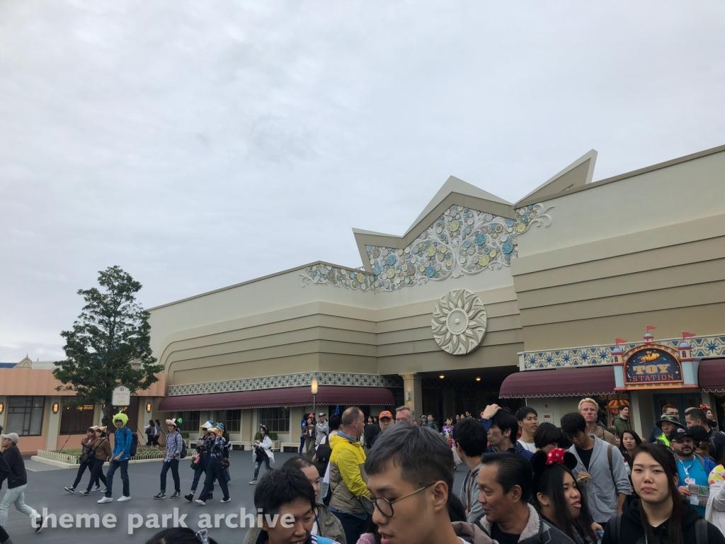 Tomorrowland at Tokyo Disneyland