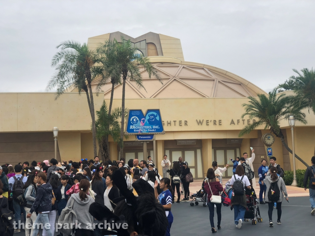 Monsters Inc Ride and Go Seek at Tokyo Disneyland