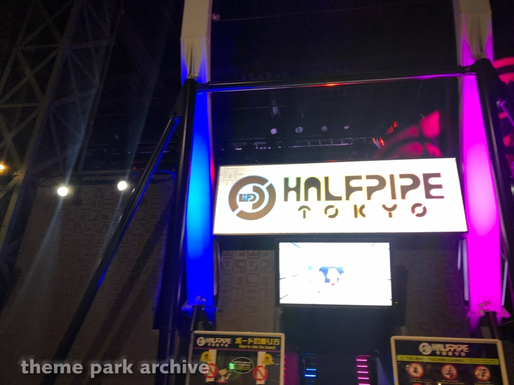 Halfpipe Tokyo at Tokyo Joypolis