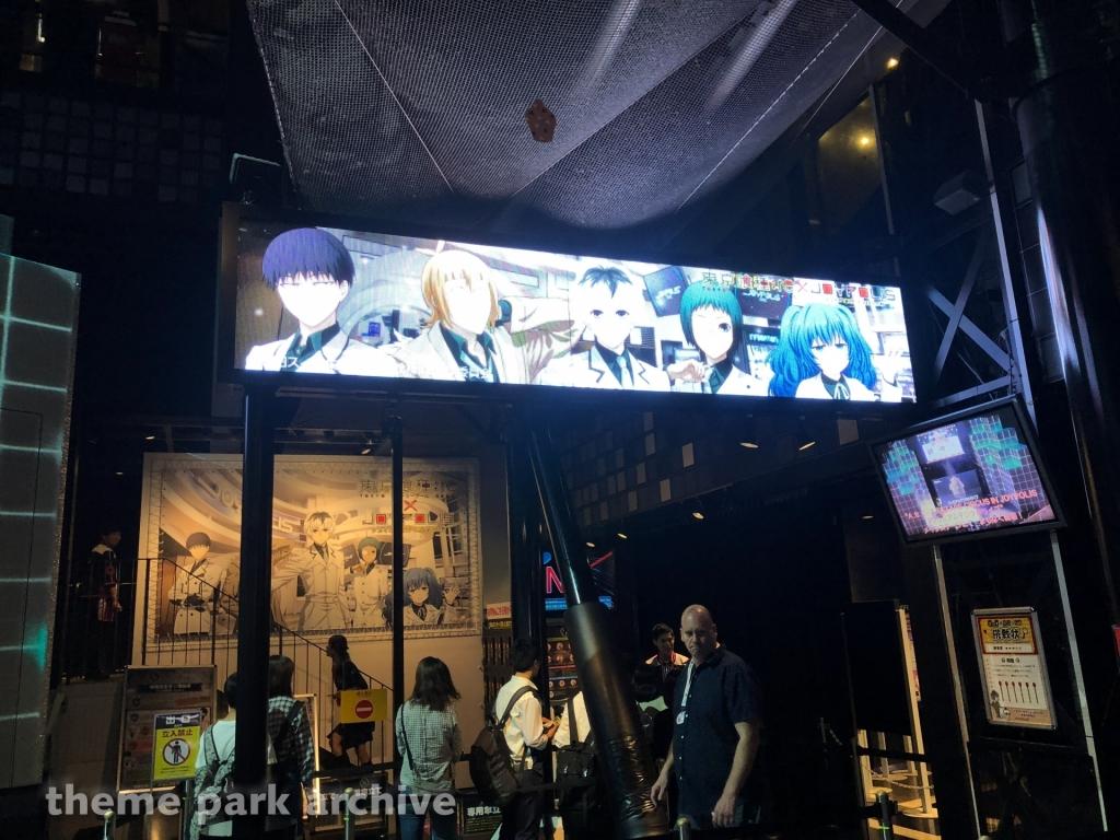 Gekion Live Coaster at Tokyo Joypolis