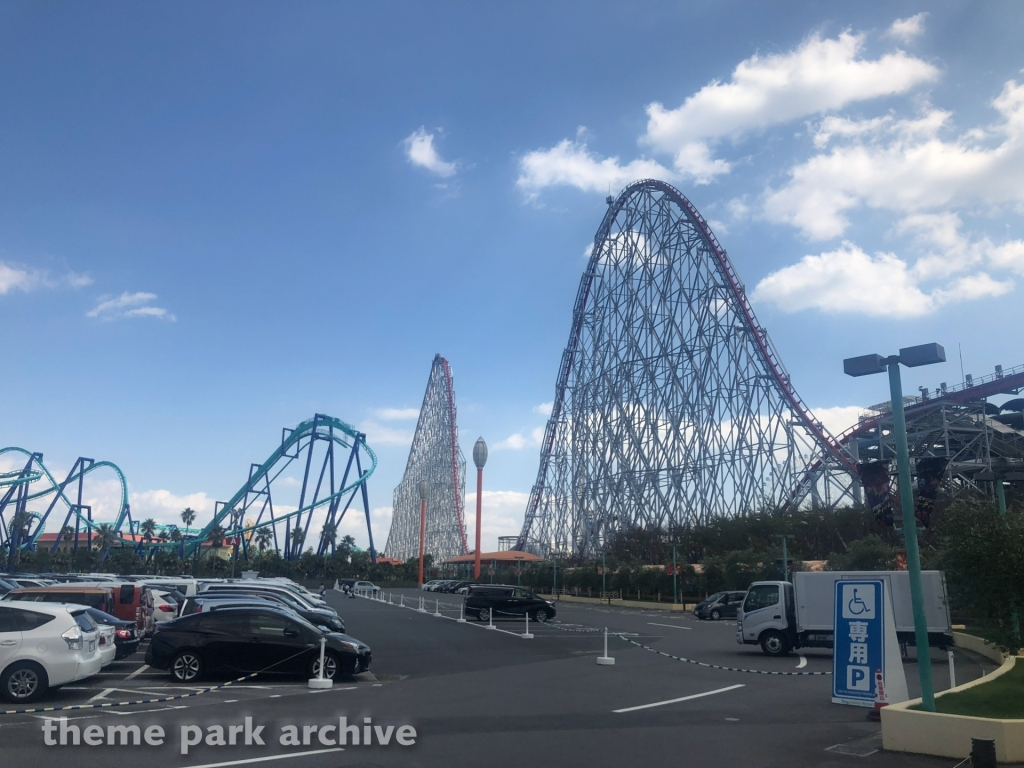 Steel Dragon 2000 at Nagashima Resort