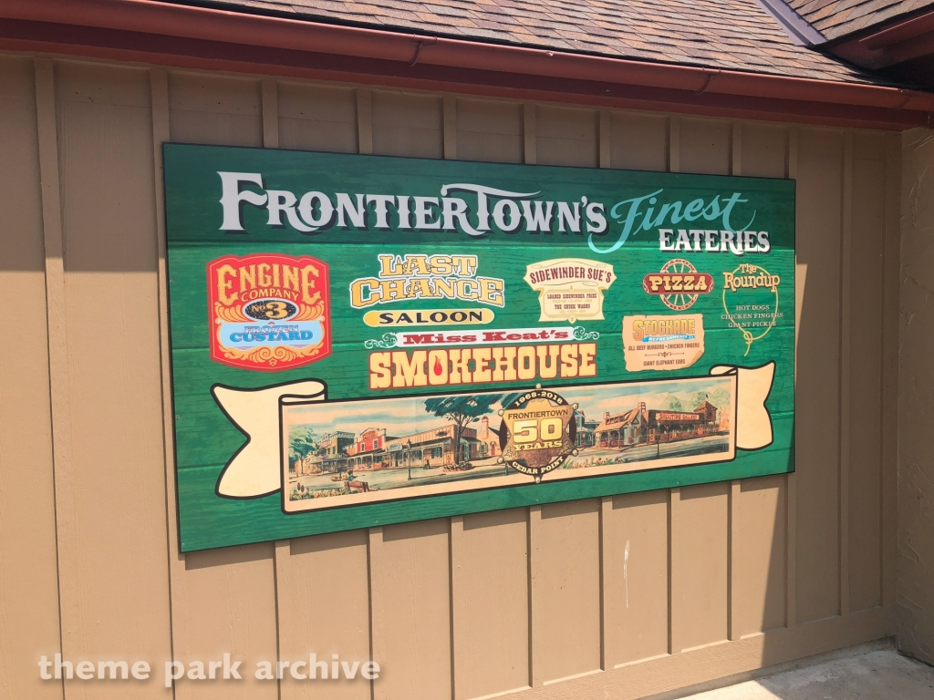 Frontier Town at Cedar Point