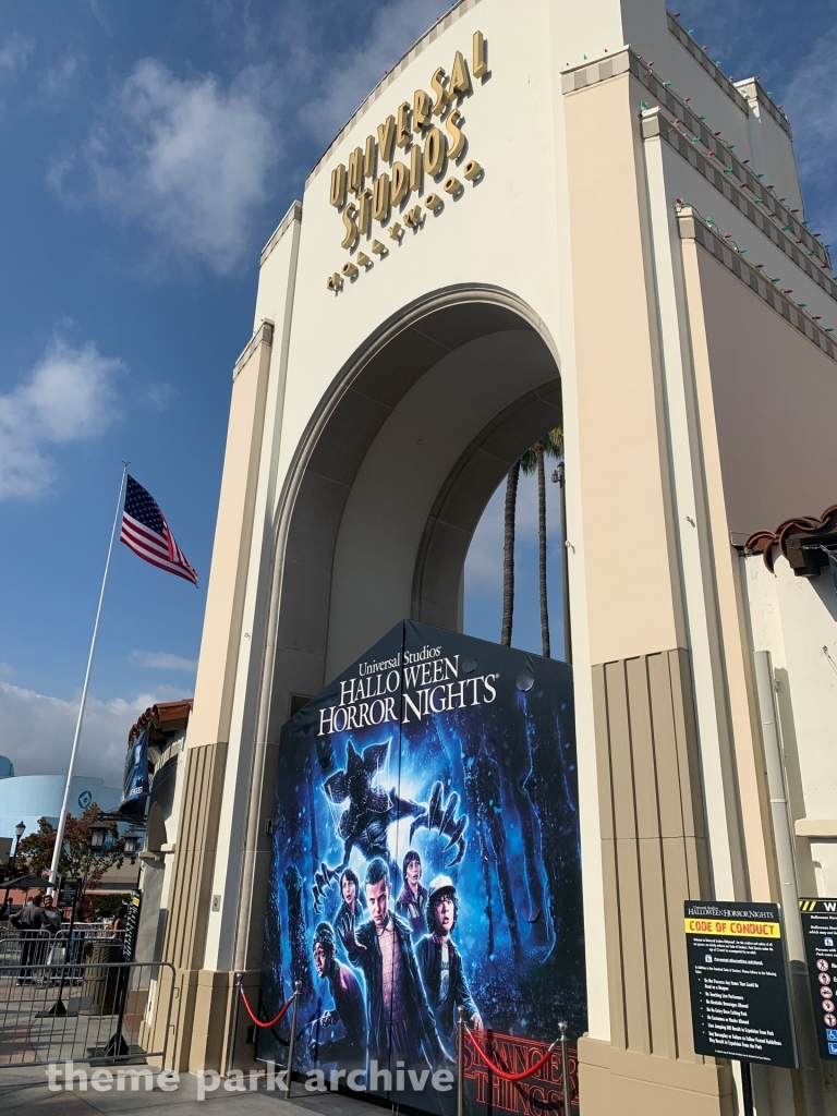 Entrance at Universal Studios Hollywood